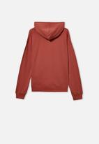 Free by Cotton On - Henley free hoodie - chutney