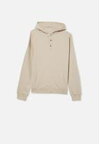 Free by Cotton On - Henley free hoodie - rainy day