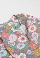 Cotton On - 2 pack long sleeve zip romper - multi