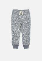 Cotton On - Marlo trackpant - steel/ bunny ditsy floral