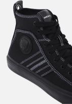 Diesel  - S-astico mid lace wmns - silver black
