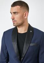 Superbalist - Don fashion slim fit 1-button double vent blazer - navy