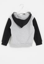 Superbalist Kids - Nasa younger boys hooded sweatshirt - black & grey