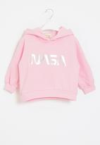Superbalist Kids - Younger girls pullover hoodie - pink