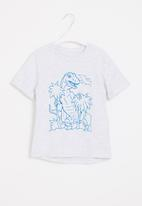 POP CANDY - Younger boys styled short sleeve tee - grey