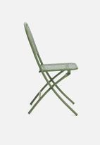 H&S - Punch folding outdoor chair - green