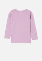 Cotton On - Penelope long sleeve tee - purple