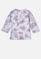Cotton On - Jamie long sleeve tee - purple