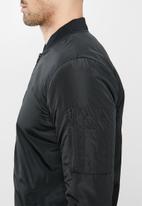 Brave Soul - Robinson bomber jacket - black