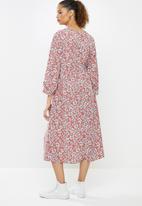 O'Neill - Blue skies dress - pink