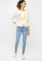 O'Neill - Wave women long sleeve t-shirt - beige