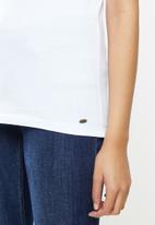 O'Neill - Wavey short sleeve t-shirt - white