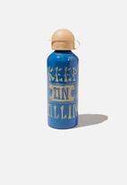 Cotton On - Aluminium drink bottle - blue