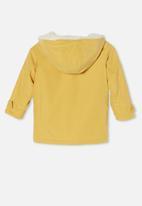 Cotton On - Florence parker jacket - mustard