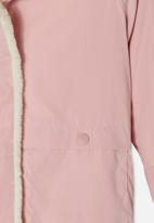 Cotton On - Florence parker jacket - pink