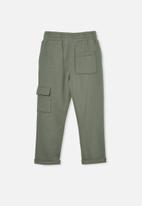 Cotton On - Cargo trackpant - green