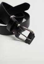 MANGO - Belt ivan - black