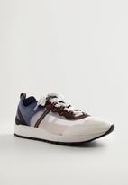 MANGO - Runfoot sneaker - white