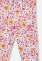 Cotton On - Fleece legging - pale violet