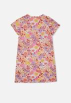 Free by Cotton On - Toni T-shirt sleeve dress - multi