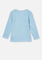 Cotton On - Penelope long sleeve tee - blue