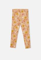 Cotton On - Fleece legging - peachy