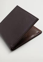 MANGO - Wallet classic - brown