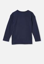 Cotton On - Penelope long sleeve tee - navy