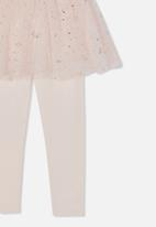 Cotton On - Zoe skegging - light pink