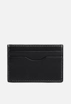 MANGO - Card holder twofaces - black