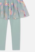 Cotton On - Zoe skegging - light blue