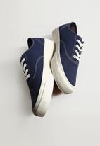 MANGO - Fabric sneaker - medium blue