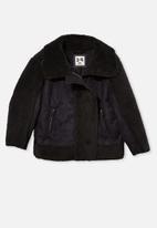 Cotton On - Arabella aviator jacket - black