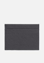 MANGO - Card holder basic - grey