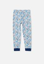 Cotton On - Orlando long sleeve pyjama set licensed - light blue