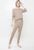 Superbalist - Sleep top & pants set - neutral