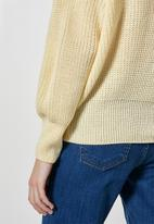 Superbalist - Roll neck pull over - soft yellow