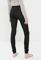 Superbalist - 2 pack thermal legging - stone & black