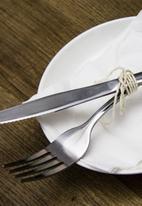 Sixth Floor -  Steak knife set - silver