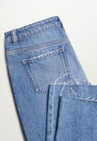MANGO - Violet jeans - open blue