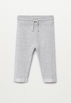 MANGO - Mires trousers - grey