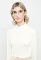 Glamorous - High neck knit - cream