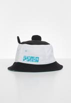 PUMA - Puma animal bucket hat - white & black