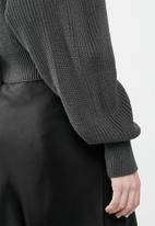 Glamorous - Cropped cardi - grey
