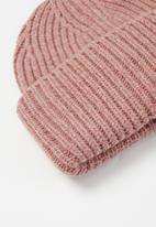 Rubi - Adrianna ribbed beanie - pink
