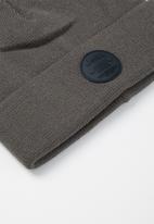 JEEP - Short ribbed beanie - grey