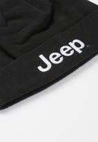JEEP - Polar fleece beanie - black