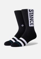 Stance Socks - Og socks - black & white