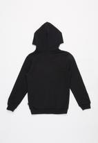 PUMA - Big logo fleece hoodie - black
