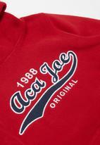 Aca Joe - Pre-boys core fleece hoodie - red